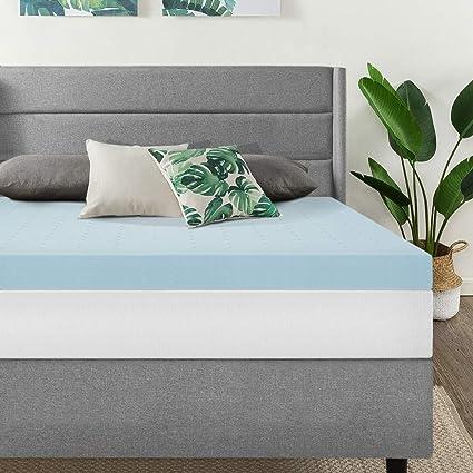 Amazon Com Best Price Mattress 4 Gel Memory Foam Mattress Topper