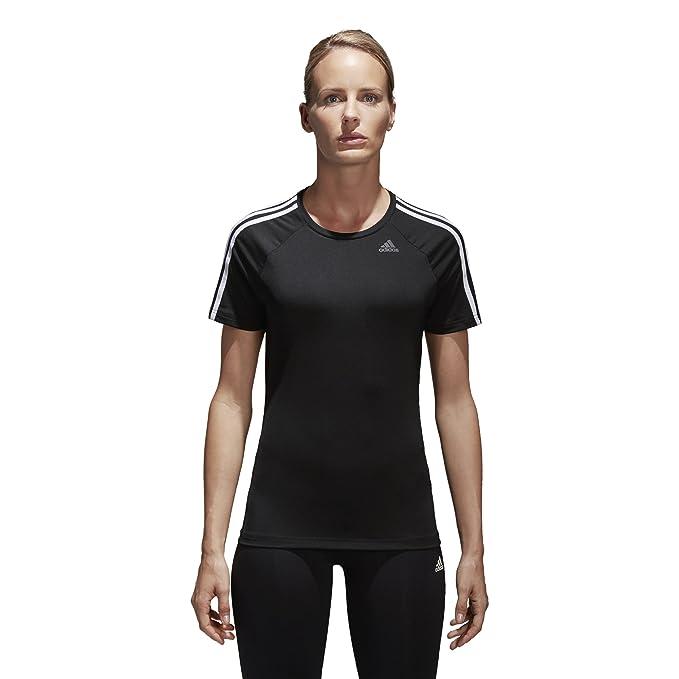 823c50e428da1 adidas Womens Training Designed 2 Move 3-Stripes tee