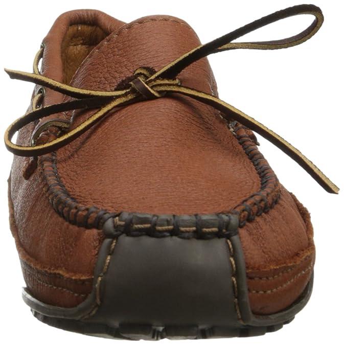 Minnetonka Moosehide Weekend Moc 758 - Mocasines para hombre, Marrón, 40.5: Amazon.es: Zapatos y complementos
