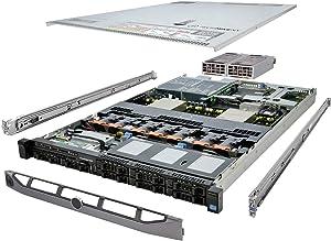 TechMikeNY Server 2X E5-2670 2.60Ghz 16-Core 64GB H710 Rails PowerEdge R620 (Renewed)