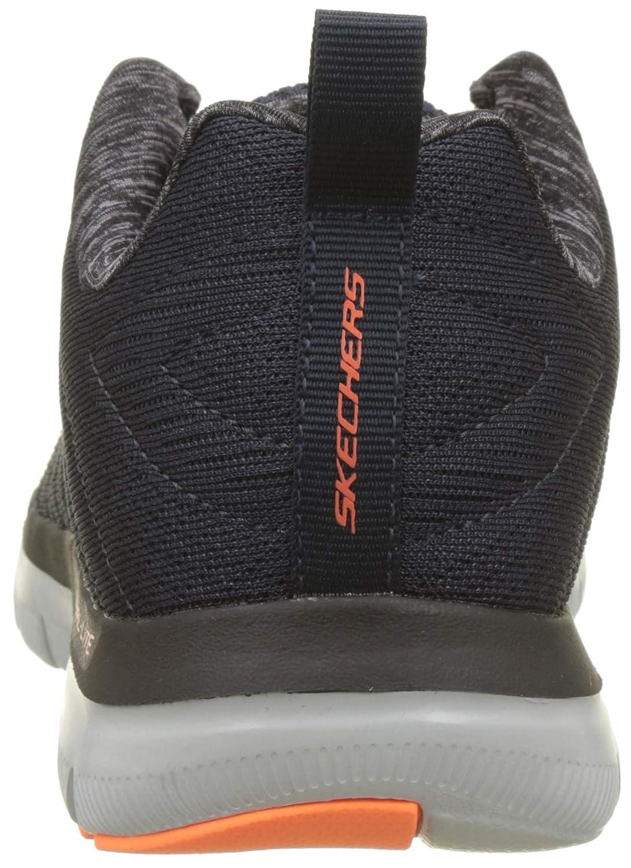 Skechers Herren Flex Advantage 2.0 The Happs Outdoor Fitnessschuhe, Grau (Light GreyBlack), 41.5 EU