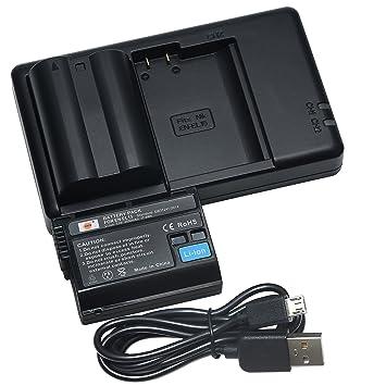DSTE 2PCS EN-EL15(2550mAh/7.0V) Batería Cargador Compatible para ...