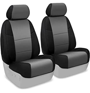 Coverking Custom Fit Front 50 Bucket Seat Cover For Select Subaru Forester Models