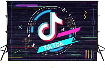 Backdrop Photography Background Tiktok Music Symbol Colorful Background Newborn Baby Photoshoot Child Birthday Photo Booth Props Kids Photography Background Wedding Festival Themed Party