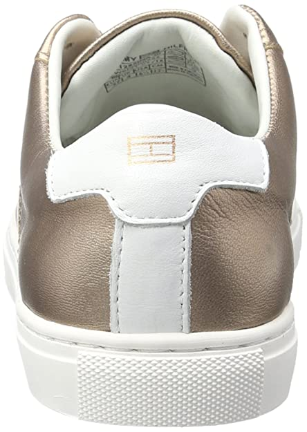 bea830186380a Tommy Hilfiger Women s T1285ina 10a2 Trainers Silver Grey  Amazon.co.uk   Shoes   Bags