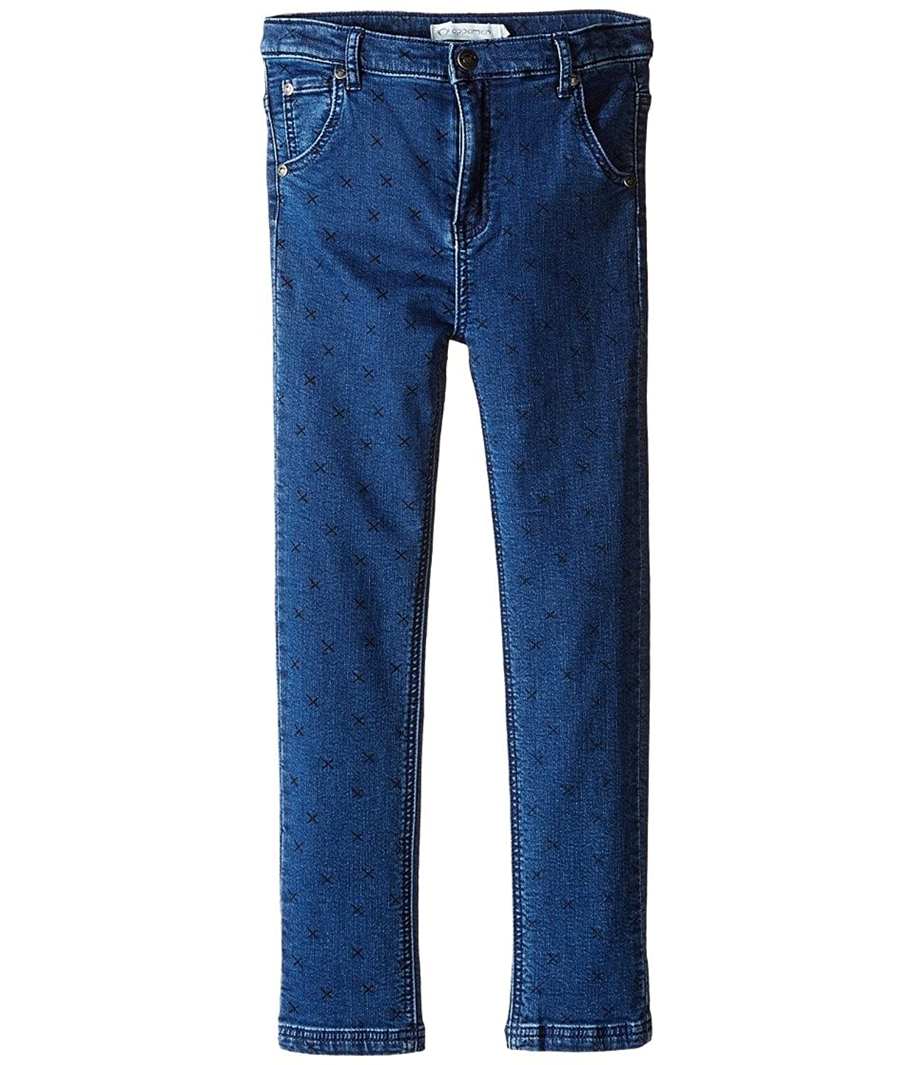 Appaman Kids Girl's Finley Knit Denim Pants (Toddler/Little Kids/Big Kids) Medium Blue Jeans Toddler