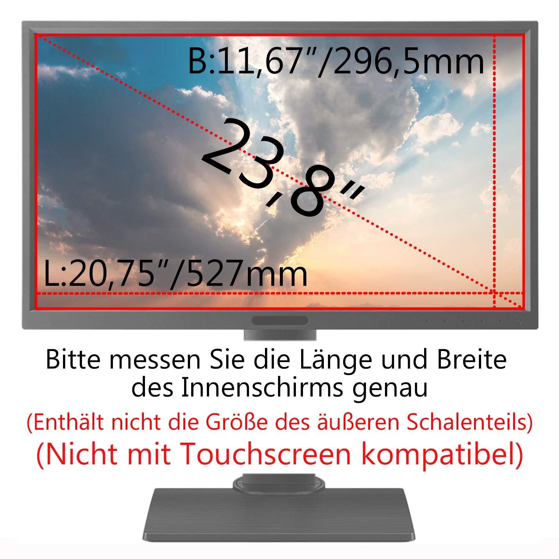 C1st 25 Zoll 16:9 Displayfilter Anti-Peeping Blickschutzfilter Sichtschutz Sichtschutzfolie 21,81x12,24zoll//554x311mm Strahlenschutz Blendschutz Computer Bildschirm Displayschutz