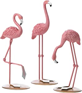 Accent Plus Tabletop Flamingo (Set of 3) 3.25x2.75x8.25