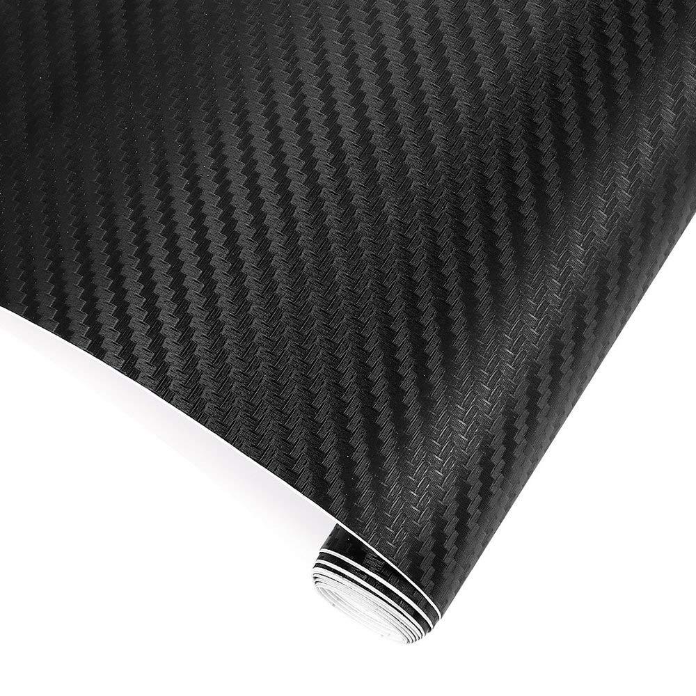 TRIXES 3D Autofolie Carbon Vinyl Wrap 1500 mm x 300 mm - Auto & Motorrad, Laptops, Handys, PC-Gehä usen