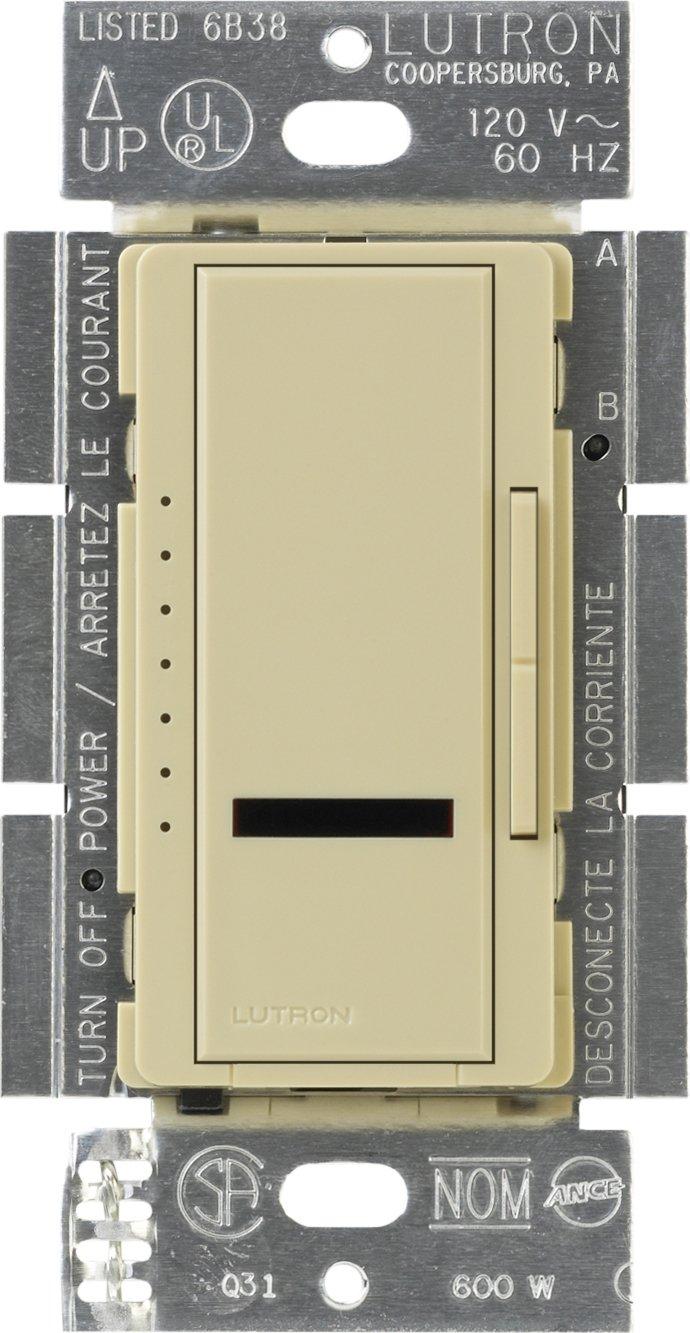 ルートロン Maestro IR 600ワット 複数箇所用 調光器 MIR-600M-IV 1 B0026SU3LK アイボリー アイボリー