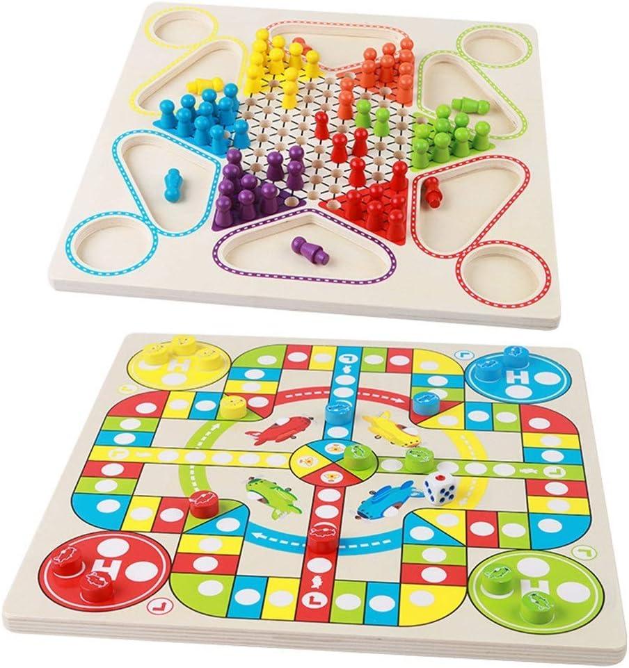 YFDD Damas-Dos en uno Juego de Mesa Gran Juego de Damas Juegos de Mesa aijia (Color : True Color , Size : Free Size) : Amazon.es: Juguetes y juegos