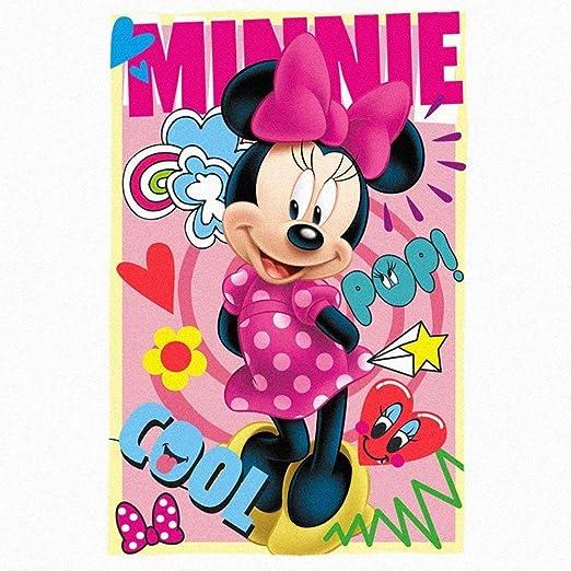 Disney Minnie Maus Take aus Fleece Panel 100/% Polyester Decke /Überwurf