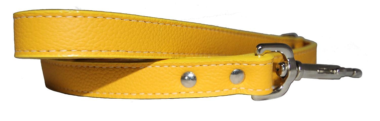 Tuscany Dog Leash color  Yellow, Size  0.75  x 48