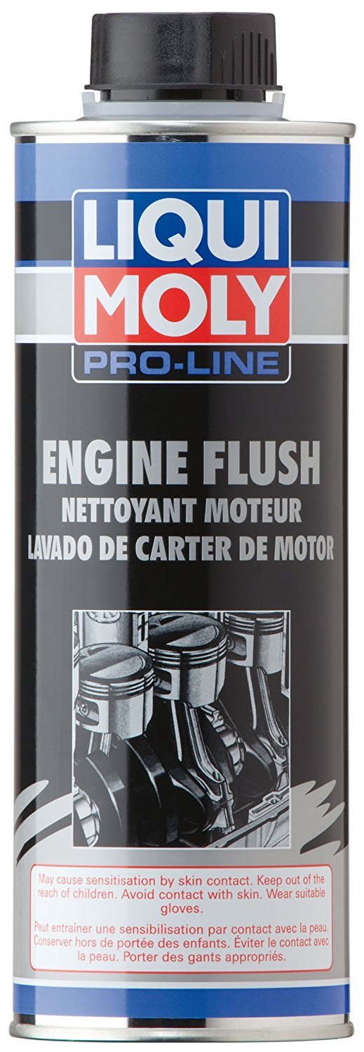 Liqui Moly 2037 Pro-Line Engine Flush Pack of 6 (6 x 500 Milliliter Cans) by Liqui Moly