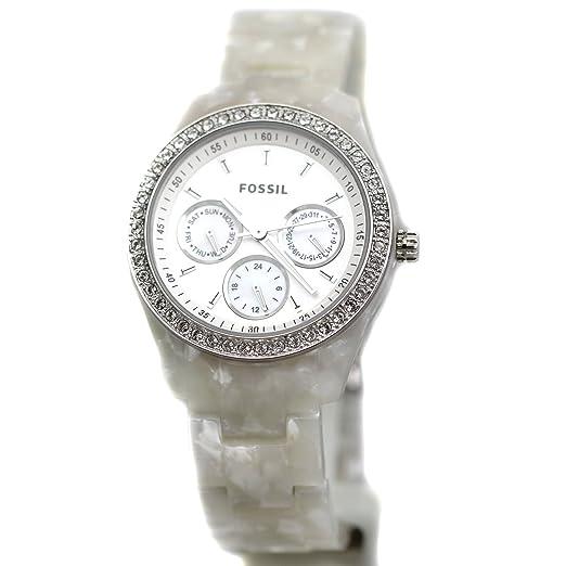 b2473c88a9fe Fossil ES2790 - Reloj analógico de cuarzo para mujer con correa de nylon