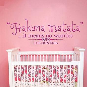 Dibujos animados Hakuna Matata Significa que no hay preocupaciones ...