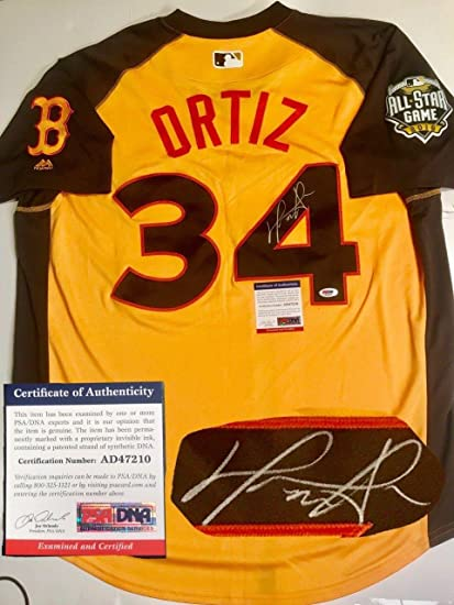 Signed David Ortiz Jersey - 2016 All Star Redsox Big Papi - PSA DNA  Certified 15089dbf1c8