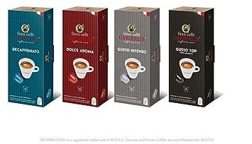 Gran caffè garibaldi nespresso compatible capsules variety pack