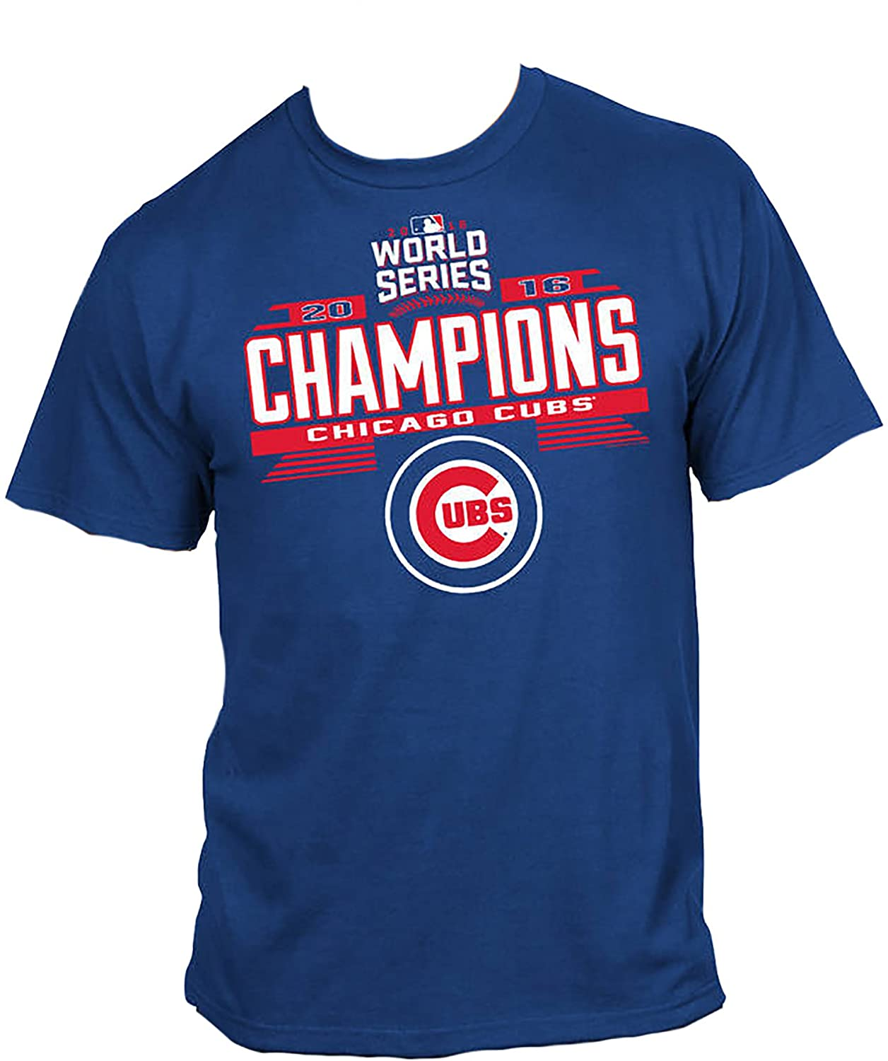 Amazon.com  Chicago Cubs Blue World Series 2016 Champions Youth T-Shirt   Clothing 315ee5f33