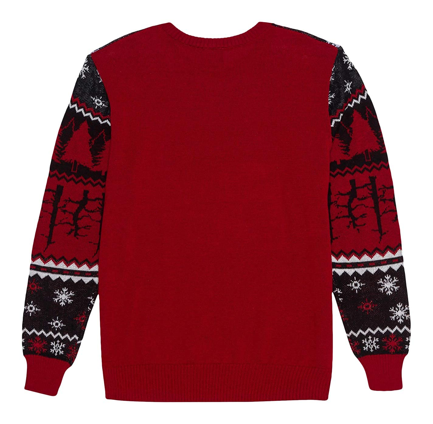 Stranger Things Ugly Christmas Sweater.Stranger Things Men S Ugly Christmas Holiday Flip Sequin