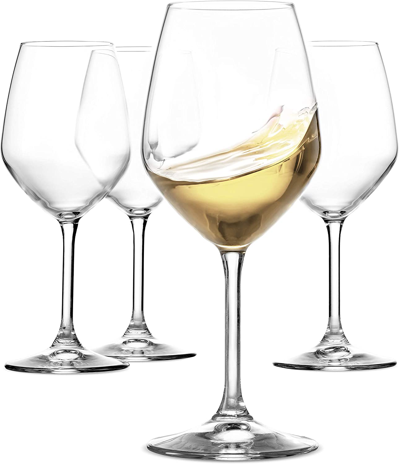 Amazon Com Paksh Novelty Italian Wine Glasses For Parties Weddings Gifting Clear Wine Glass For Red And White Wine Set Of 4 Wine Glasses