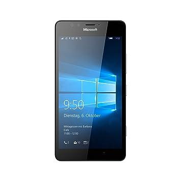 58d86675099 Microsoft Lumia 950 - Smartphone Libre Windows (4G, 32 GB, 3 GB RAM, cámara  20 MP), Color Negro: Amazon.es: Electrónica