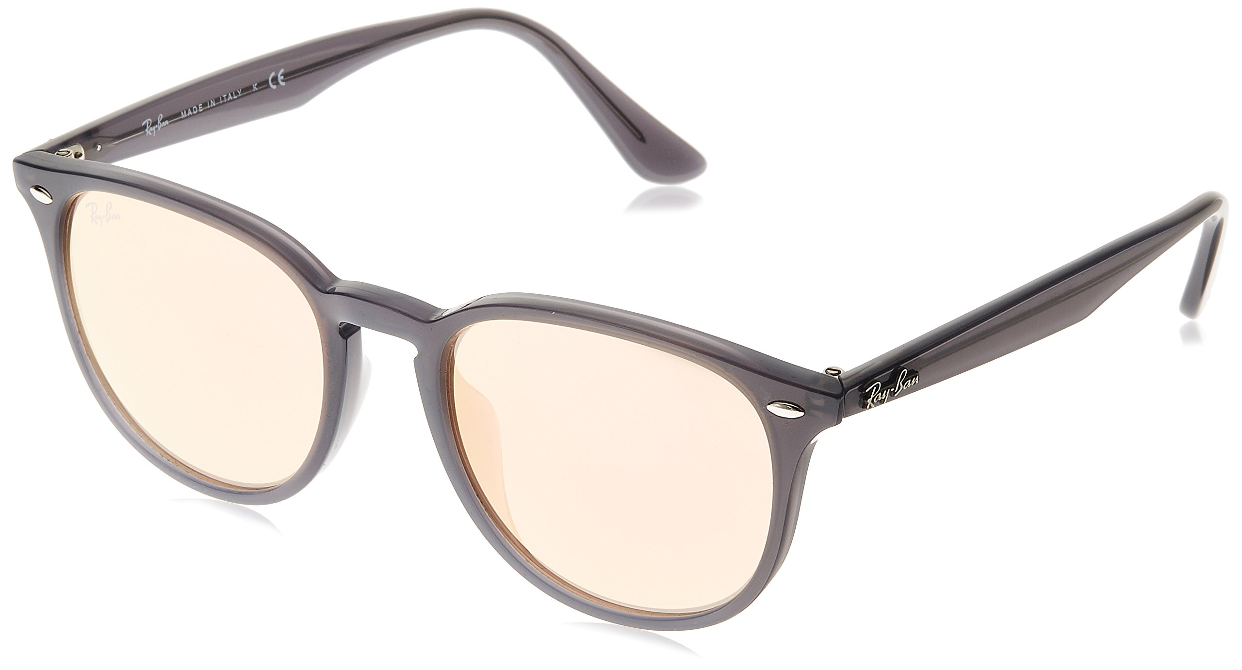 Ray-Ban Sunglasses - RB4259F / Frame: Shiny Opal Gray Lens: Orange Flash-RB4259F62307J53 by Ray-Ban