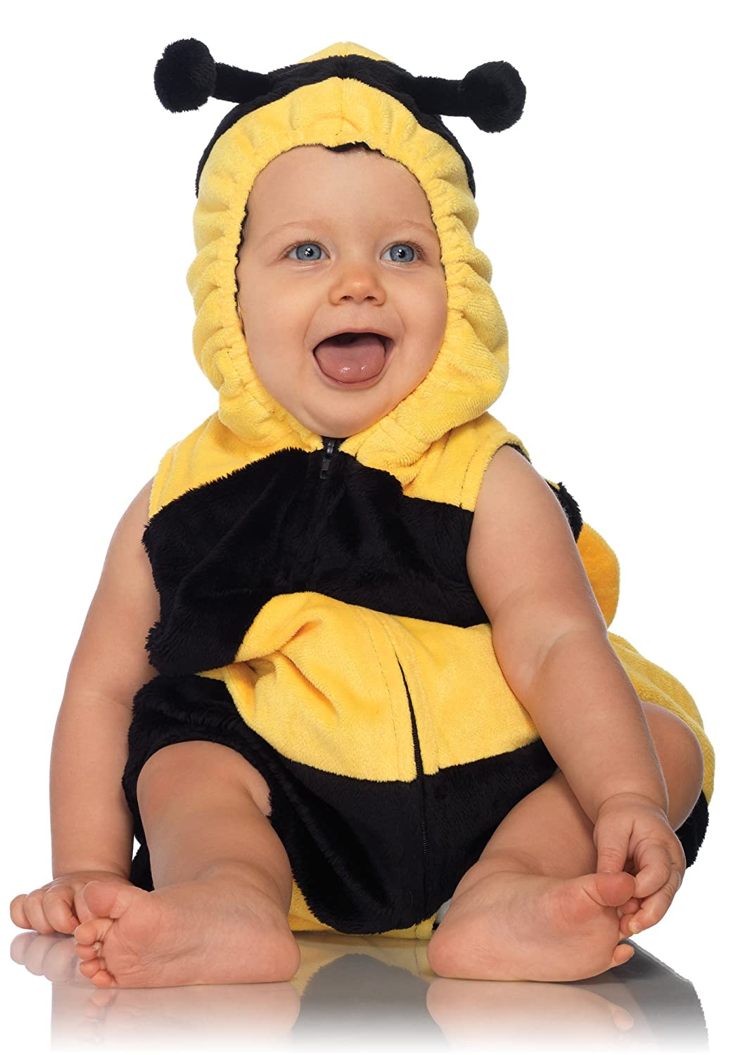Amazon.com Leg Avenue Anne Geddes Bumble Bee Baby Padded Body Suit with Zipper Closure Black/Yellow 18M-24M Clothing  sc 1 st  Amazon.com & Amazon.com: Leg Avenue Anne Geddes Bumble Bee Baby Padded Body Suit ...