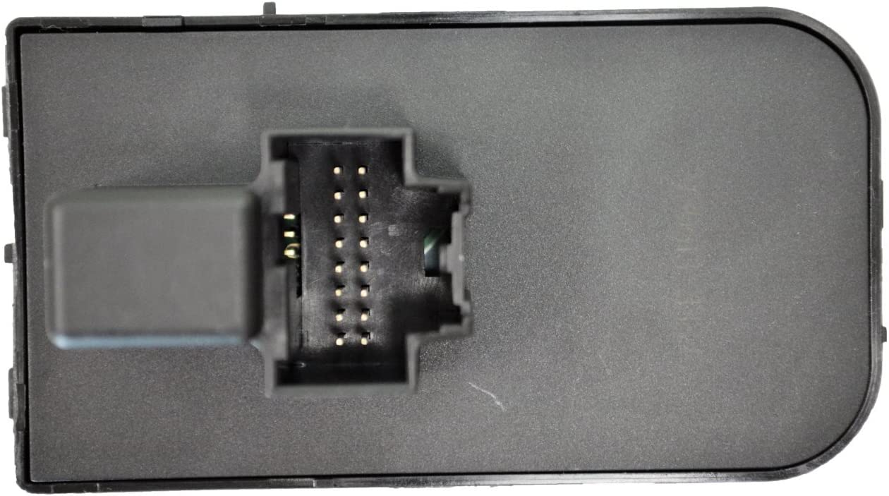 PT Auto Warehouse HLS-11078 without Fog Lights Black Trim Headlight Switch without Comfort /& Convenience Package