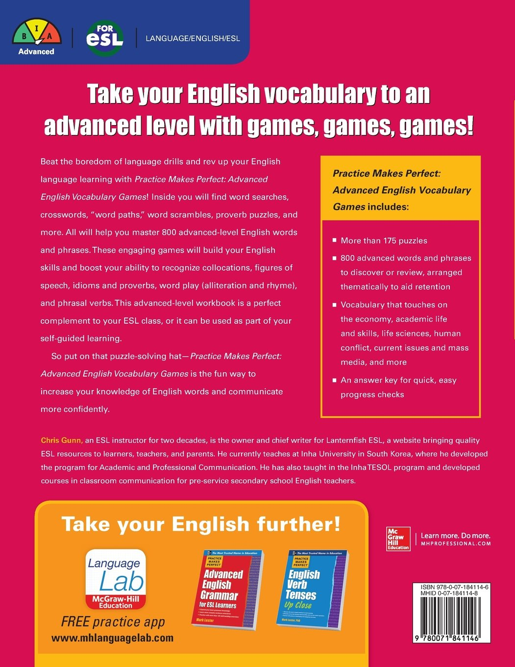 Buy Practice Makes Perfect Advanced English Vocabulary Games ...