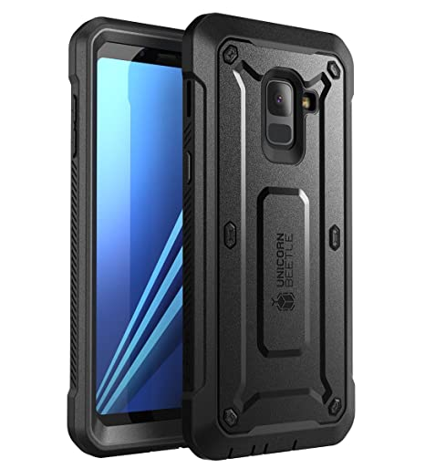 buy popular 328d3 d6ba6 SUPCASE [Unicorn Beetle Pro Case for Galaxy A8 2018, Rugged Holster Cover  for Samsung Galaxy A8 2018 Release,with Built-in Screen Protector (Not ...