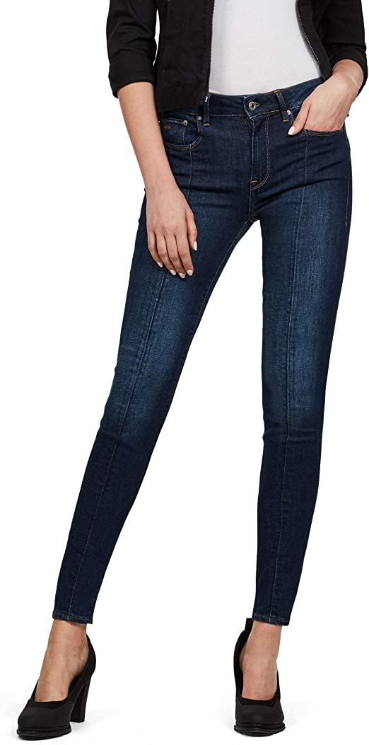 G STAR RAW Damen 3301 l High Waist Skinny Jeans:
