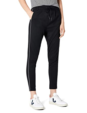 ONLY Damen Hose Onlpoptrash Piping Pant Noos