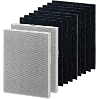 Merchandise Mecca Replacement 2 HEPA Air Filters and 8 Carbon Pre-Filters Compatible with Fellowes HF-300 fits Fellowes…