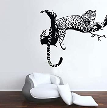 Lovely Animal Wild Zoo Leopards, Cheetahs, Tail Wall Decal Sticker Living Room  Stickers