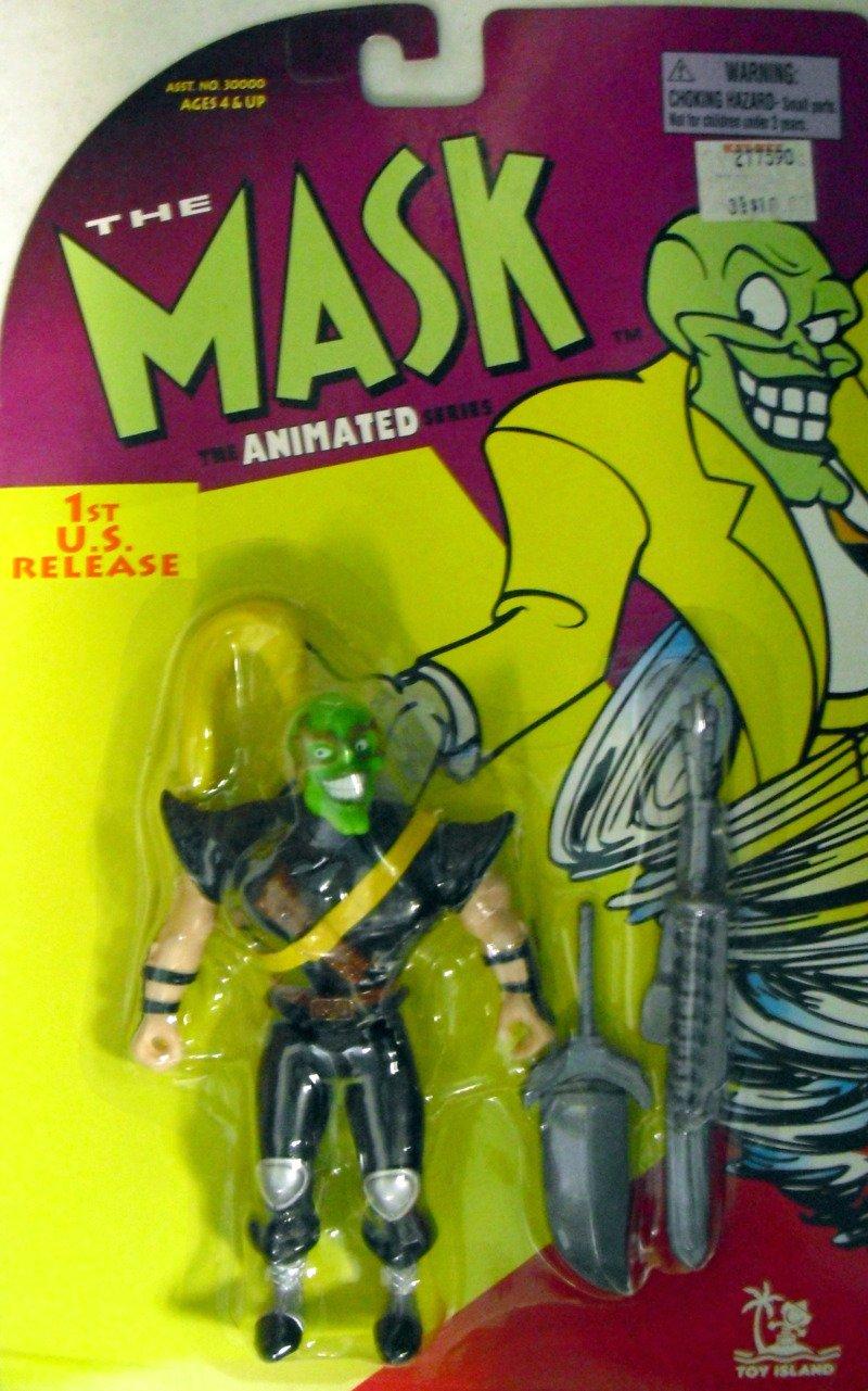 Amazon.com: The Mask - The Animated Series - Ninja Mask with ...