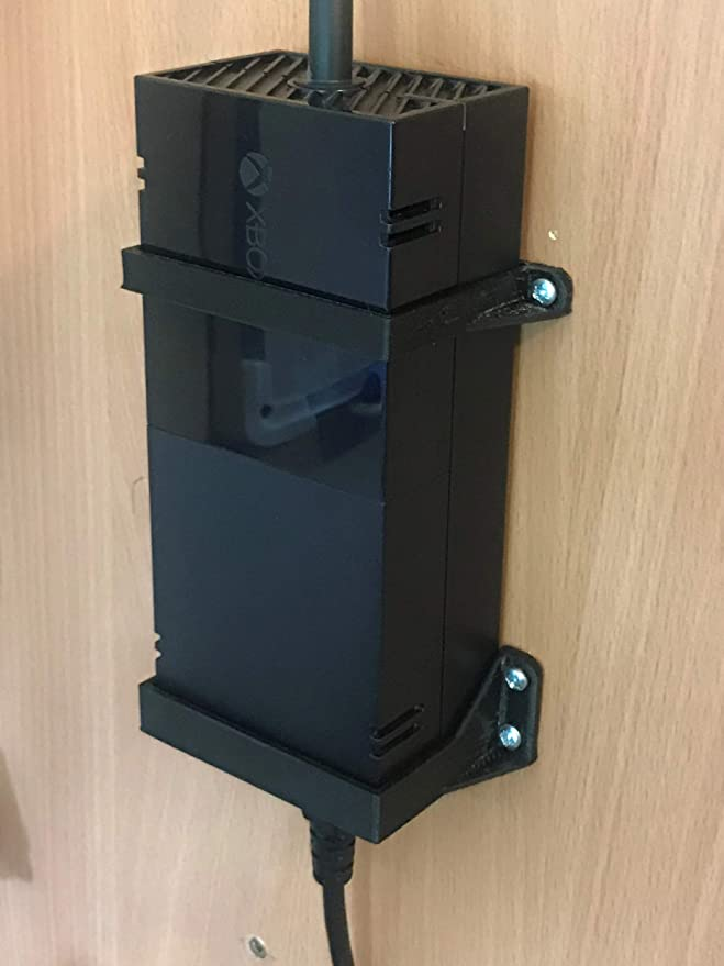 Xbox One Soporte de Montaje en Pared / Fuente de alimentación de ladrillo: Negro: Amazon.es: Electrónica