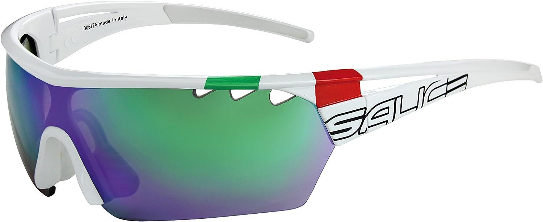 Salice 006ITA RW - Gafas de Ciclismo, Color Blanco, Talla única ...