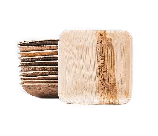 Box and Tree| vajilla desechable Biodegradable 100 Piezas Mini ...