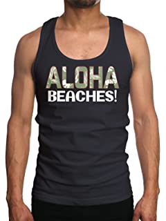 529ee7d91475a Mens Shady Beach Funny Tees Sleeveless Tops Gym Workout Lifting ...