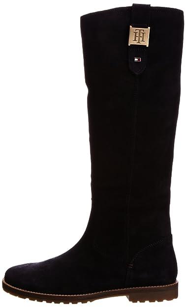 Tommy Hilfiger WERA 15 B - Botines de cuero mujer, color azul, talla 36: Amazon.es: Zapatos y complementos