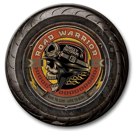 Harley-Davidson 23 en Redondo de 2 Piezas neumático Calavera ...