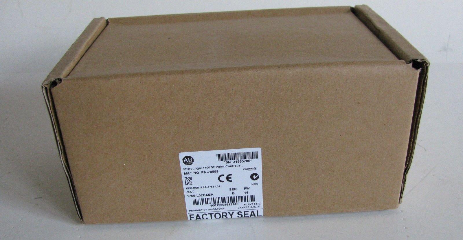 Allen Bradley MicroLogix 1400 32-Point PLC 24VDC 1766-L32BXBA