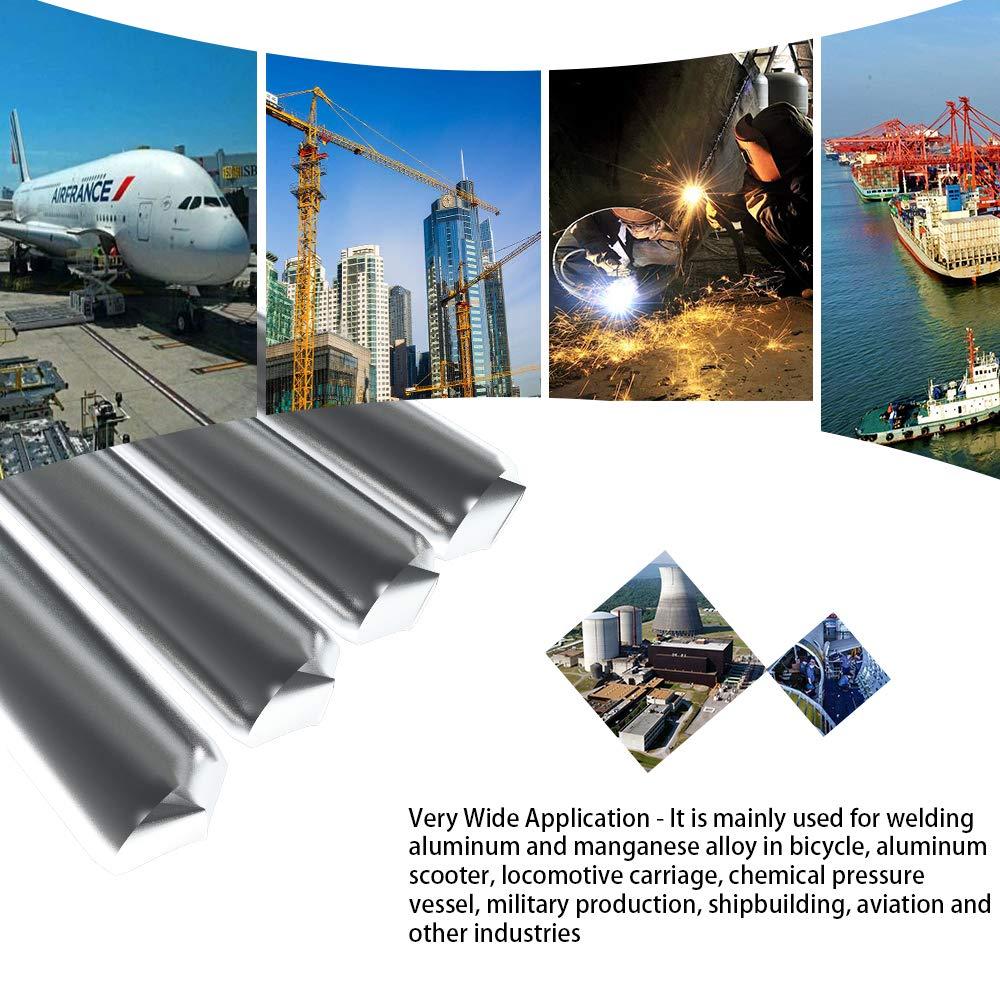 230mm Al-Mg Soldadura Varilla No Necesita Polvo de Soldadura Montloxs 4 UNIDS Baja Temperatura Alambre de Soldadura de Aluminio Flujo Cored 4.0mm