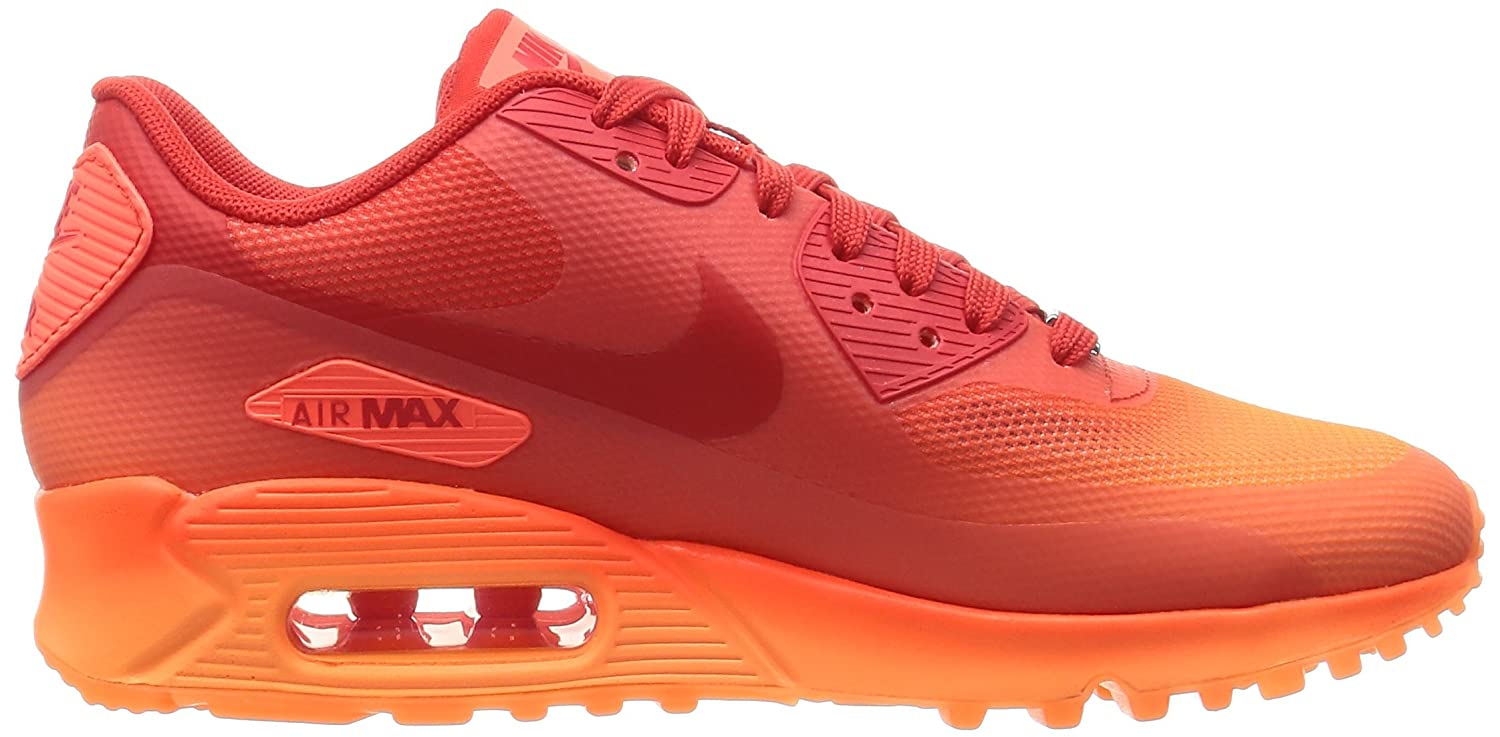 online retailer d3a32 e53f7 Nike Women s WMNS Air Max 90 HYP QS, Milan-Hyper Orange Challenge RED-Atomic  Orange, 6.5 UK  Amazon.co.uk  Shoes   Bags