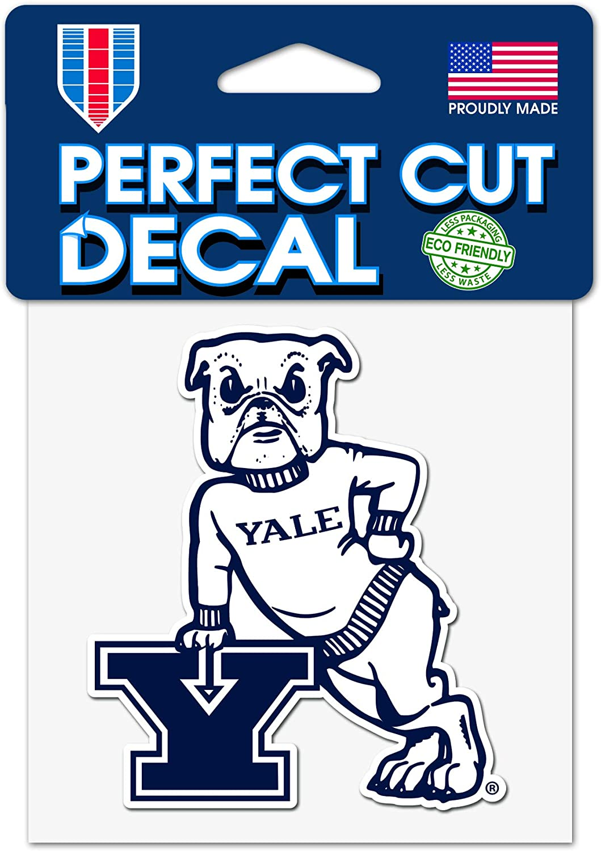 WinCrafft Yale University Vault Logo 4 x 4 Inch Perfect Cut Decal