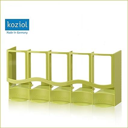 T disc dispensador de Koziol exclusivamente para Tassimo * Verde