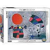 "Eurographics ""Joan Miro la Sourire aux ailes Flamboyantes"" (Puzzle 1000p, multicolore)"
