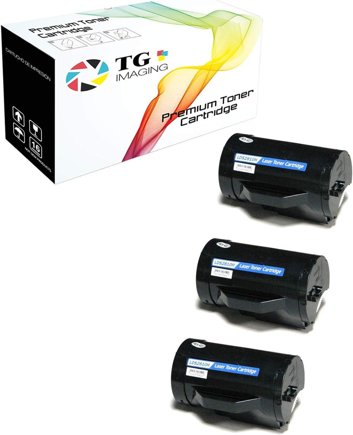 3PK S2810X 593-BBMF 47GMH New Toner For Dell Printer S2810dn S2815dn H815dw
