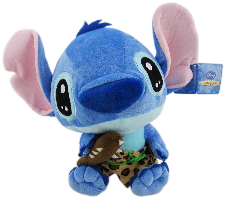 c4074d7252c Amazon.com  Small Caveman Lilo and Stitch Stuffed Plush Toy  Toys   Games